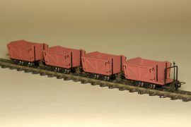Austro-Hungarian light railway lowry set for flatland railways