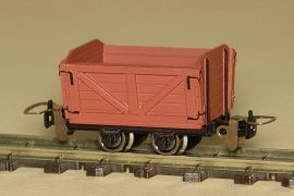 Austro-Hungarian light railway lowry without brake