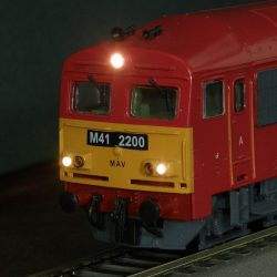 DCC-board and driver's cab-imitation for Fuggerth M41