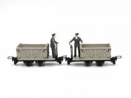 Bremserfiguren für H0e Feldbahnloren, 2 Stk